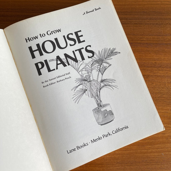 How to Grow House Plants (1968)
