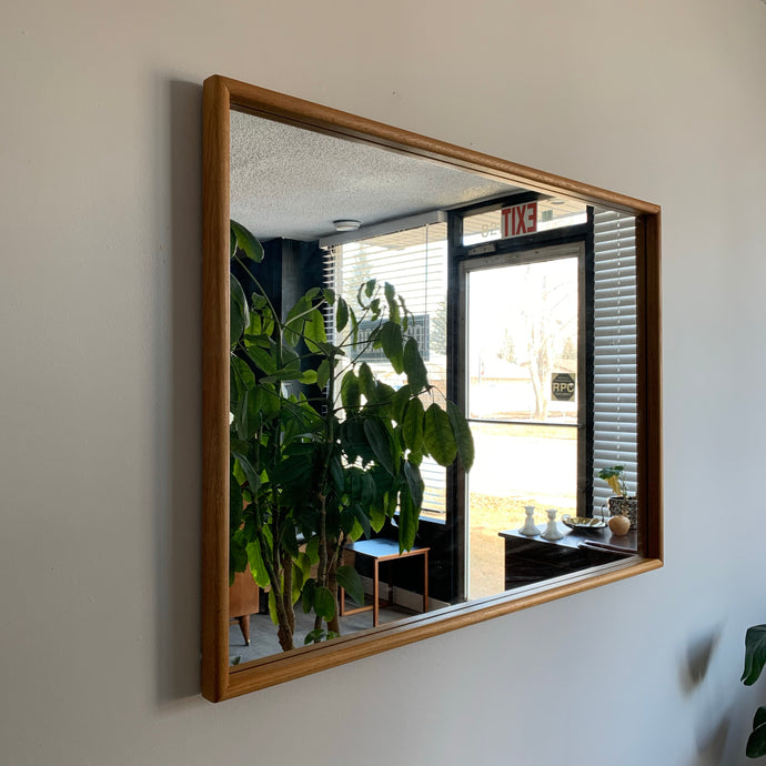 Solid Teak Mirror