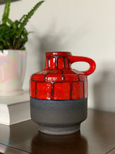 Load image into Gallery viewer, West Germany - Tönnieshof Carsten Fat Lava Ceramic Vase