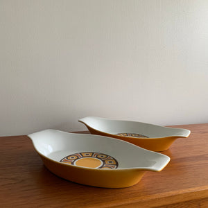 Vintage Imperial Sienna Casserole Dish (Priced Individually)
