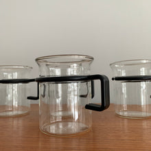 Load image into Gallery viewer, Set of 4 Vintage Bodum Mugs