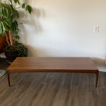 Load image into Gallery viewer, Vintage Walnut Coffee Table