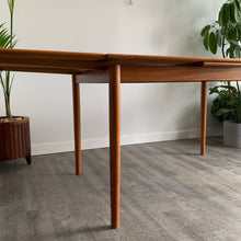 Load image into Gallery viewer, Danish Teak Extendable Dining Table