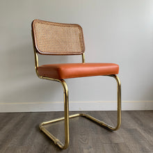 Load image into Gallery viewer, Vintage Cantilever Cane Chair