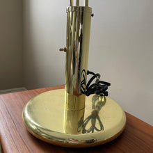 Load image into Gallery viewer, Vintage Brass Spider Table Lamp