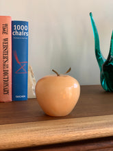 Load image into Gallery viewer, Vintage Alabaster Apple Paperweight / Decor