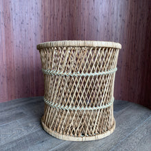 Load image into Gallery viewer, Vintage Wicker Plant Stand