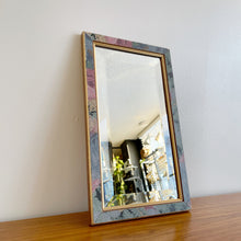 Load image into Gallery viewer, Vintage Floral Mirror