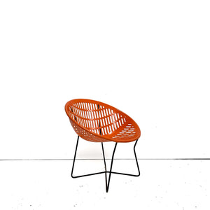 Vintage Orange Solair Chair
