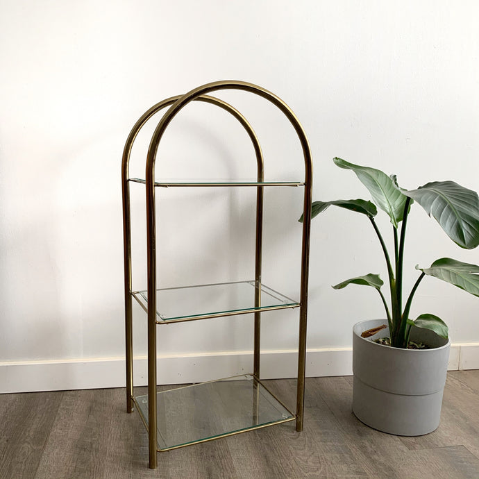 Vintage Brass Shelf