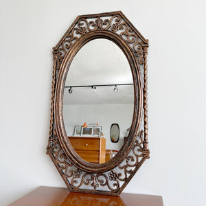 Vintage Coppercraft Guild Mirror