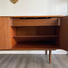 Load image into Gallery viewer, Vintage Walnut Credenza