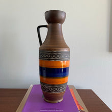 Load image into Gallery viewer, West Germany Pottery Pitcher Vase
