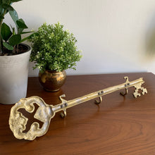 Load image into Gallery viewer, Vintage Large Brass Key Holder