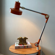 Load image into Gallery viewer, Vintage Articulated Clamp Desk Lamp