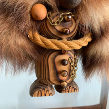 "Load image into Gallery viewer, Vintage Wooden Troll ""Jarrse Trollet"" By YNGVE PERSSON"