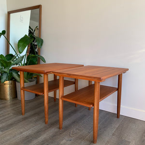 Vintage Teak Side Tables