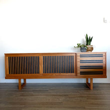 Load image into Gallery viewer, Vintage Midcentury Modern Teak Sideboard