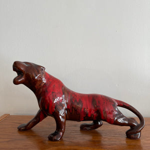 Vintage Blue Mountain Pottery Jaguar