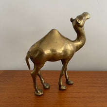 Load image into Gallery viewer, Solid Brass Camel Figurine