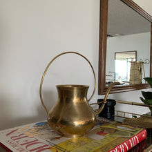 Load image into Gallery viewer, Vintage Brass Watering Can