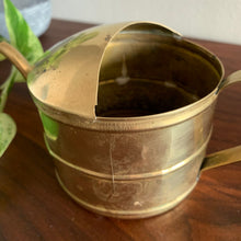 Load image into Gallery viewer, Vintage Brass Watering Can Planter