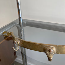 Load image into Gallery viewer, Vintage Solid Brass Coat/Key Holder
