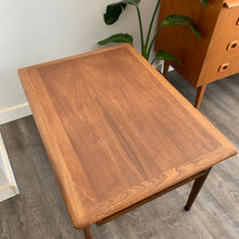 Load image into Gallery viewer, Vintage Walnut Side Table with Drawer