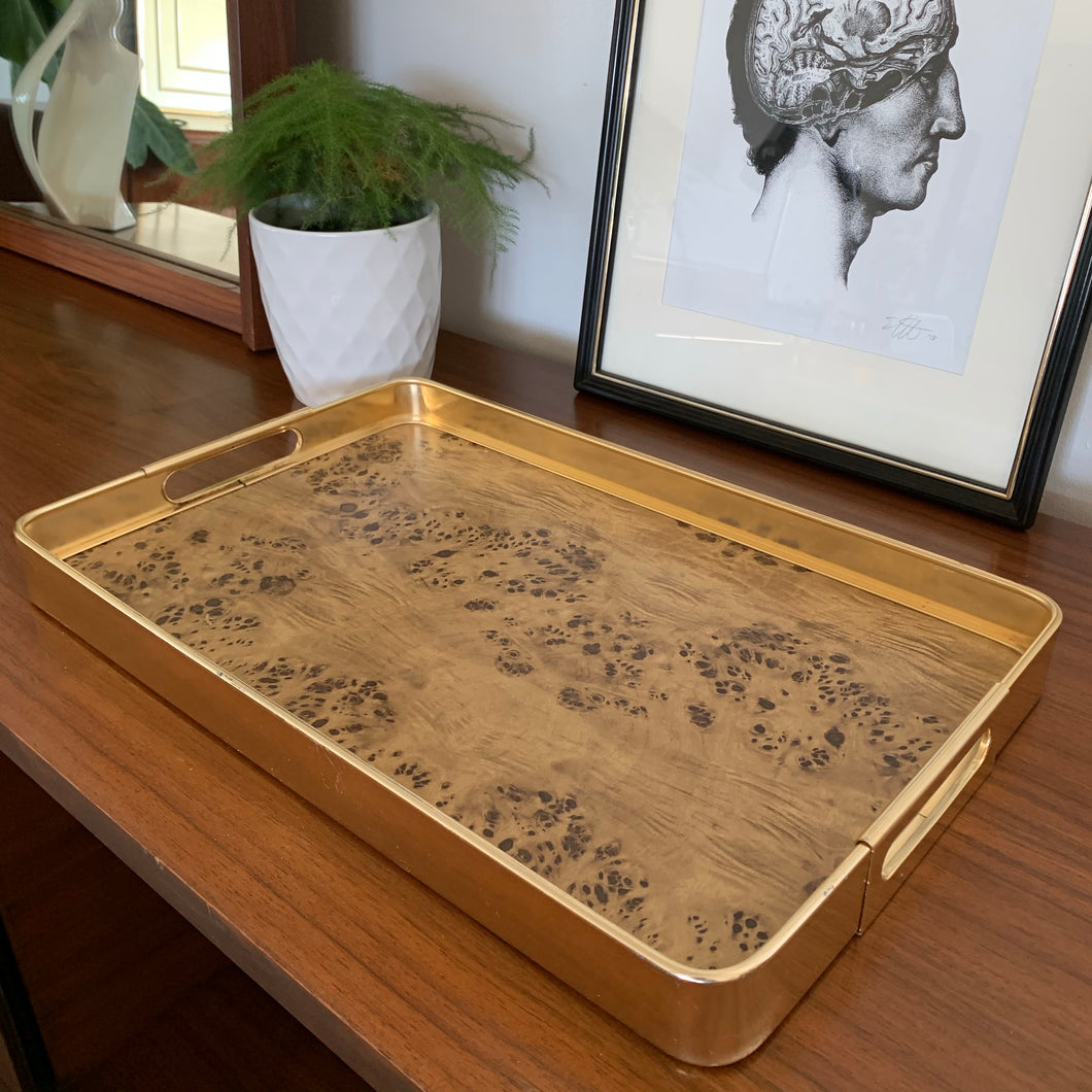 1970s Serving Tray, Made in Italy by MB