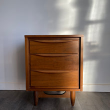 Load image into Gallery viewer, Vintage Walnut Bedside Table