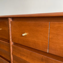 Load image into Gallery viewer, Midcentury Vilas 6 Drawer Dresser