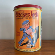 Load image into Gallery viewer, Vintage Crackerjack Tin Container
