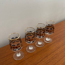 Load image into Gallery viewer, Set of 4 Cordial Glasses