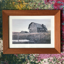 Load image into Gallery viewer, The Vanishing Buildings of Rural Canada Teak Frame Prints