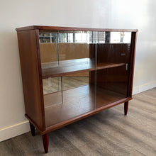 Load image into Gallery viewer, Vintage Walnut Cabinet