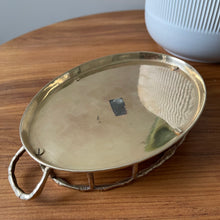 Load image into Gallery viewer, Vintage Brass Tray