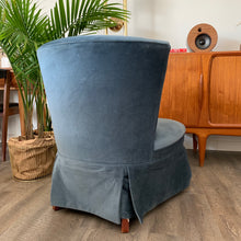 Load image into Gallery viewer, Vintage Aegean Blue Chair