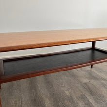 Load image into Gallery viewer, Vintage Teak Coffee Table with Under - shelf