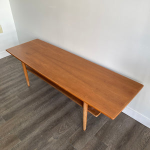 Vintage Two Tier Teak Coffee Table