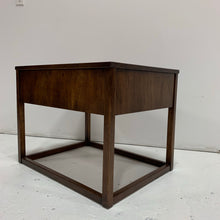 Load image into Gallery viewer, Vintage Burled Wood Side Table