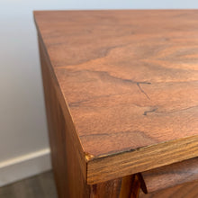 Load image into Gallery viewer, Pair of Walnut Nightstand Tables