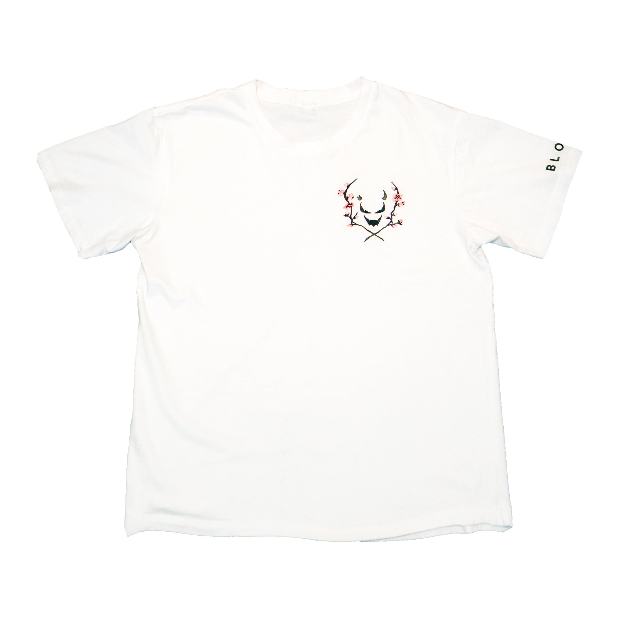 'BLOOM' Tee [Regular Fit] (White)