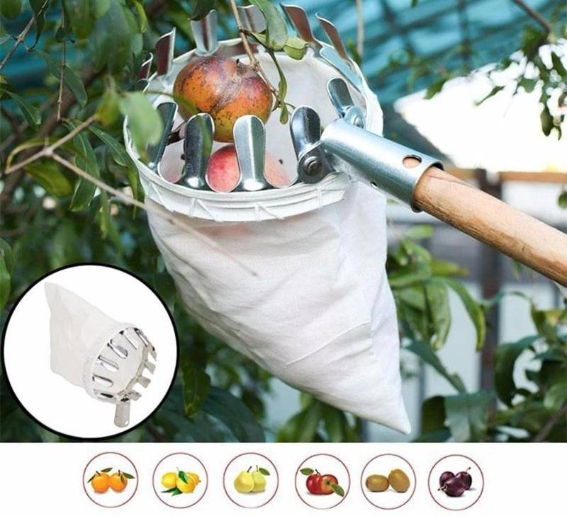 FruitPicker ™ Metal Advanced Fruit Picker Tool