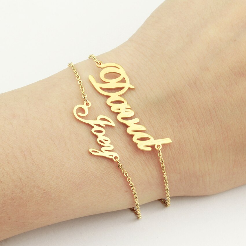 Luxury Personalized Name Bracelet