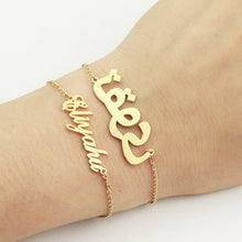 Load image into Gallery viewer, Luxury Personalized Name Bracelet