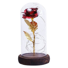 Load image into Gallery viewer, Enchanted LED Multi-Colored Rose Light