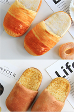Load image into Gallery viewer, Bread Funny Style Slippers