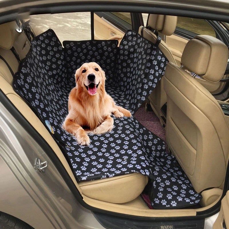 Waterproof Rear Back Pet Dog Car Seat Cover Mats Hammock Protector