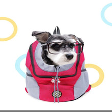 Load image into Gallery viewer, Pet Carrier for Small Cats and Dogs Transport Carrying Backpack