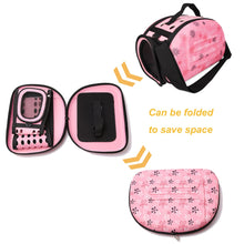 Load image into Gallery viewer, Foldable Breathable Pet Handbag Travel Carrier